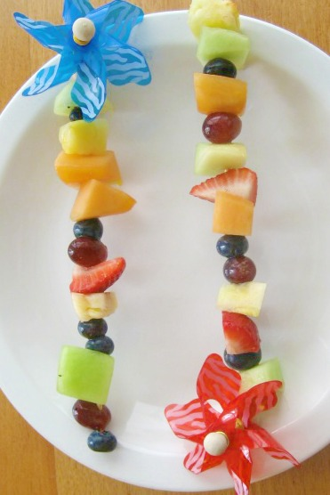 Fruit Kabobs for Kids Good Food