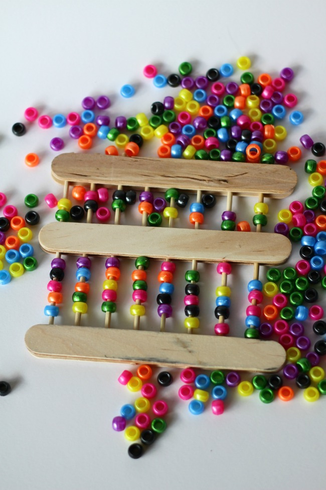 make an abacus featured on Kids Activities Blog