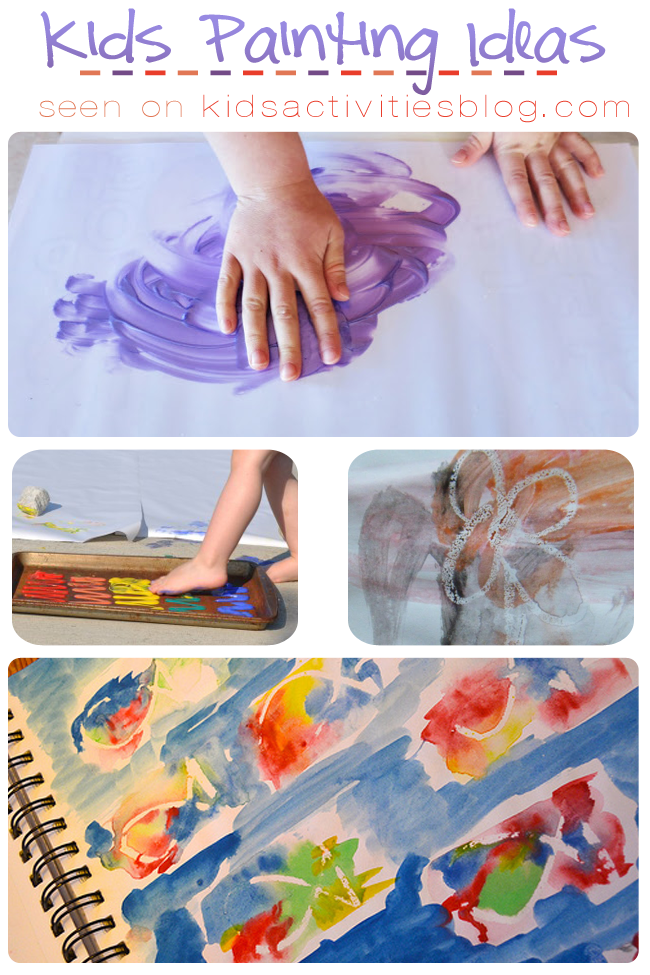 8 creative kids painting ideas to try at home Fun painting ideas for toddlers
