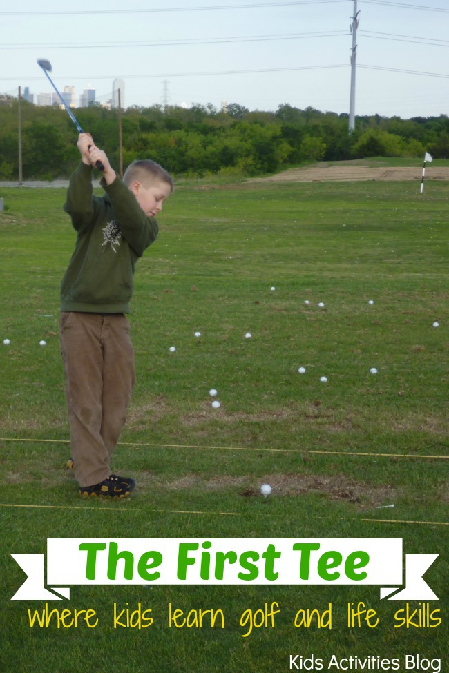The First Tee Junior Golf program: Where kids learn golf and life skills
