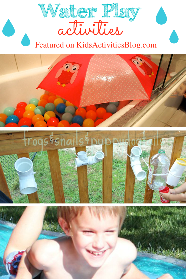 5 Fun Water Play Activities