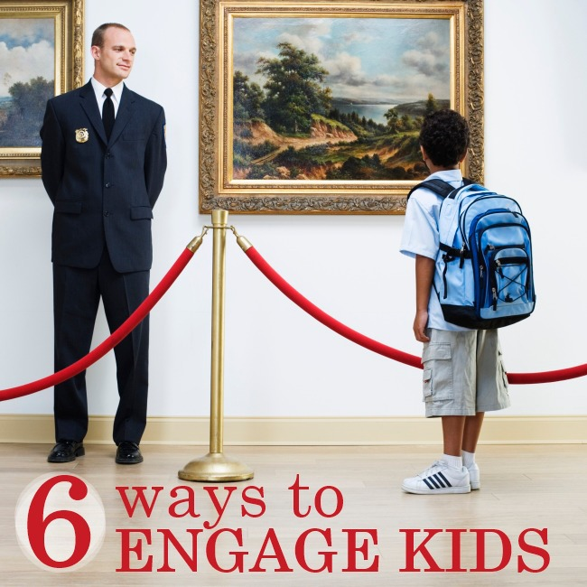 6 Ways To Engage Kids At Museums