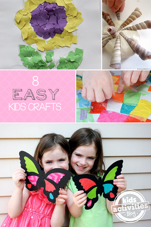 8 easy kids crafts - Kids Activities Blog