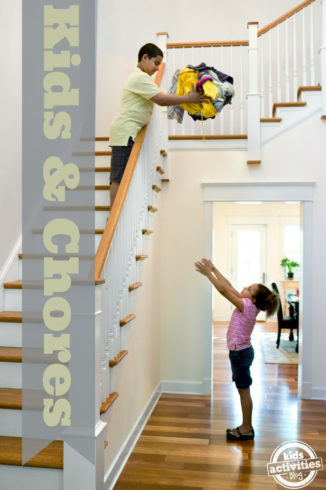 Chores for Kids by Kids Activities Blog