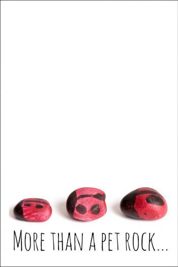DIY tic tac toe rocks - more than a pet rock - Kids Activities Blog