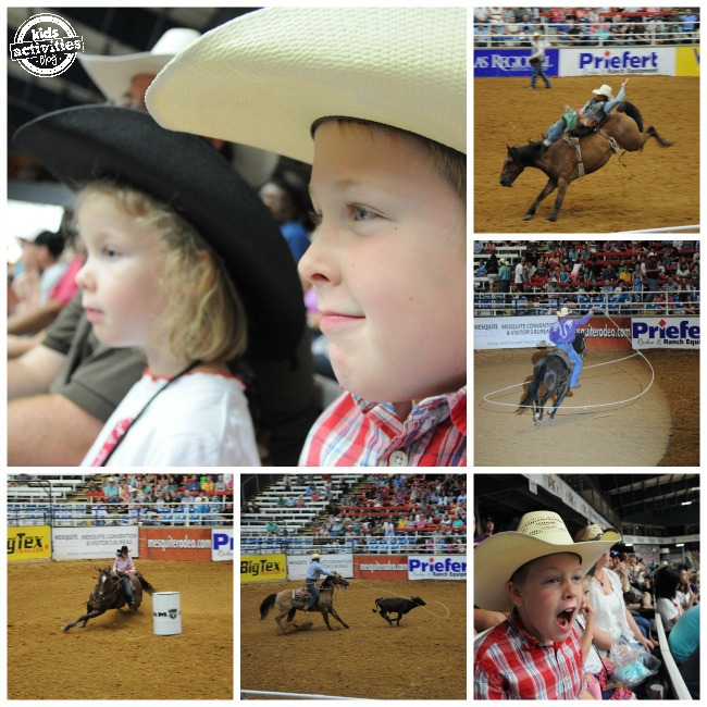 Mesquite Pro Rodeo is Great Family Fun