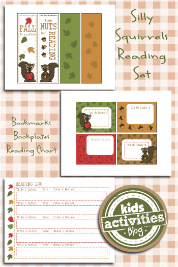 Free Printables for Kids - Fall Reading Set