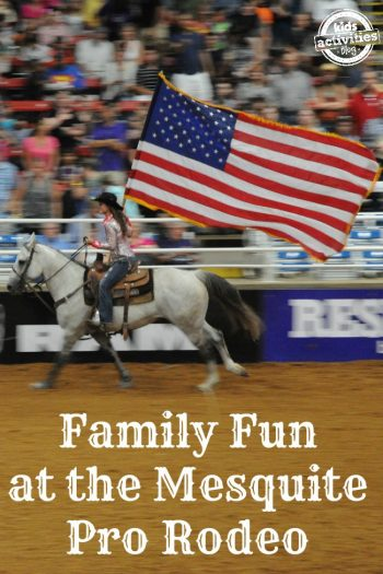 family fun at the mesquite pro rodeo