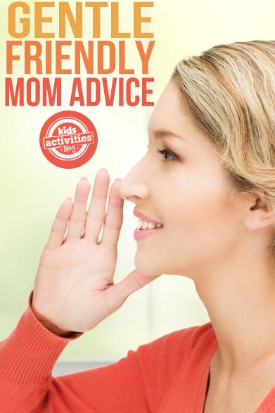 Lots of Helpful Mom Advice