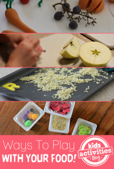 5 {Fun} Ways to Play with Food