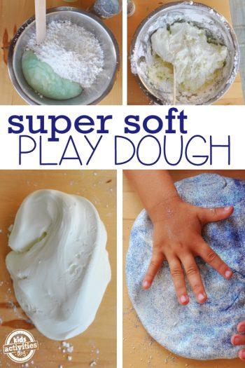 super soft play dough recipe