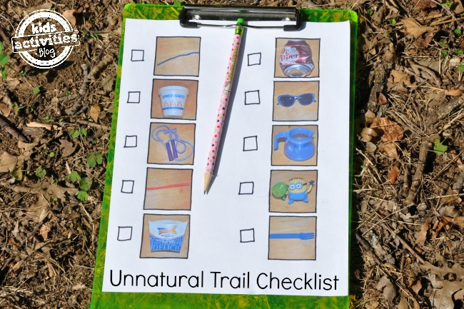 unnatural trail checklist