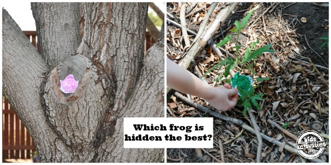 Animal Camouflage game from Kids Activities Blog