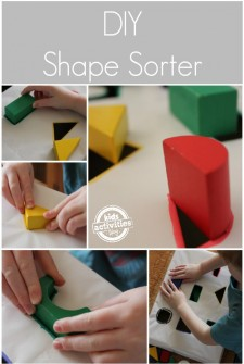 Make a DIY Shape Sorter