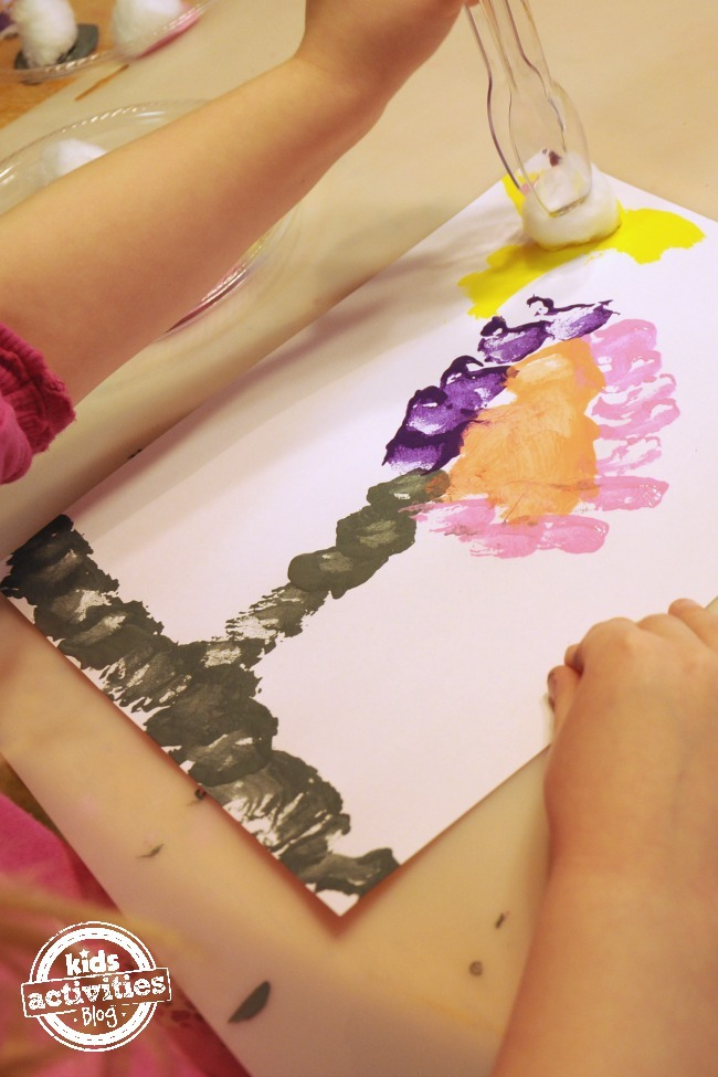 Fine Motor Skills Painting Activity - Kids Activities Blog