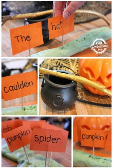 Halloween sight word game
