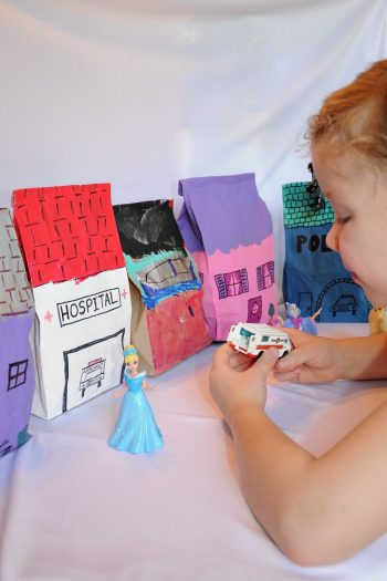 Make a Pretend City with Paper Bags