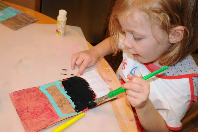 Paint craft for preschool