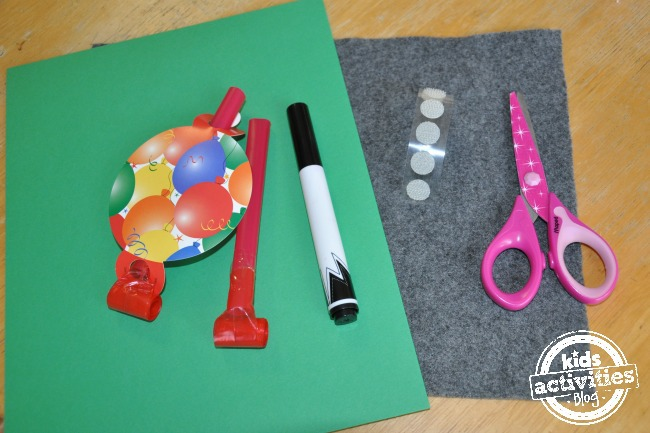 Preschool frog craft supplies
