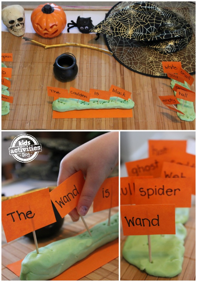 Sight word games Halloween