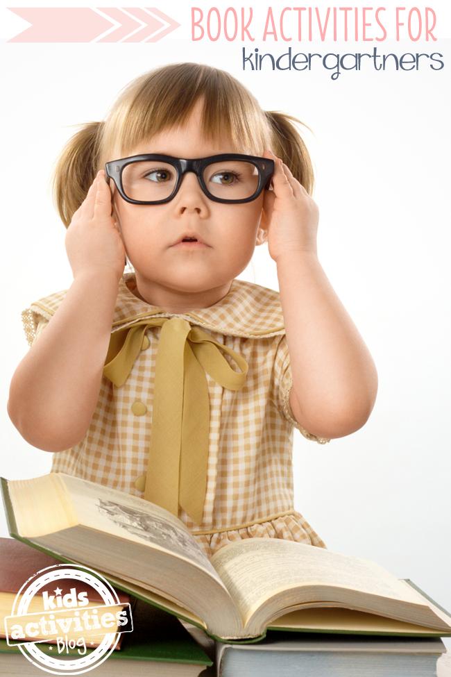 6 Book Activities for Kindergartners