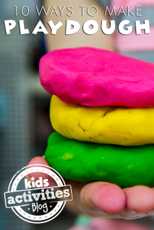 How To Make Playdough {10 Different Ways}