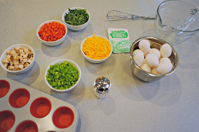 omelet bar ingredients