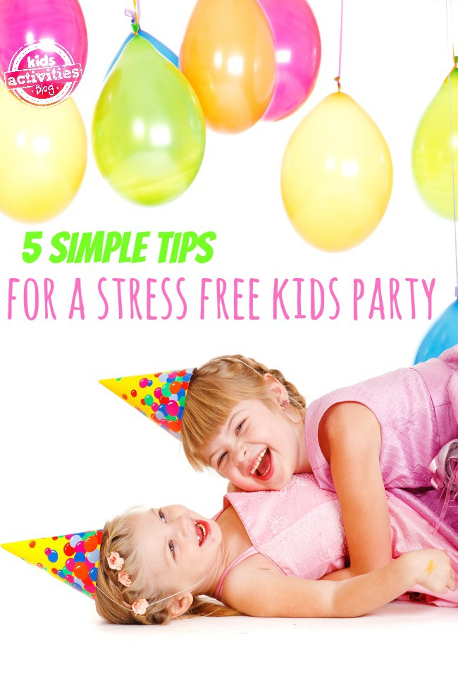 Great tips for how to plan a birthday party for kids
