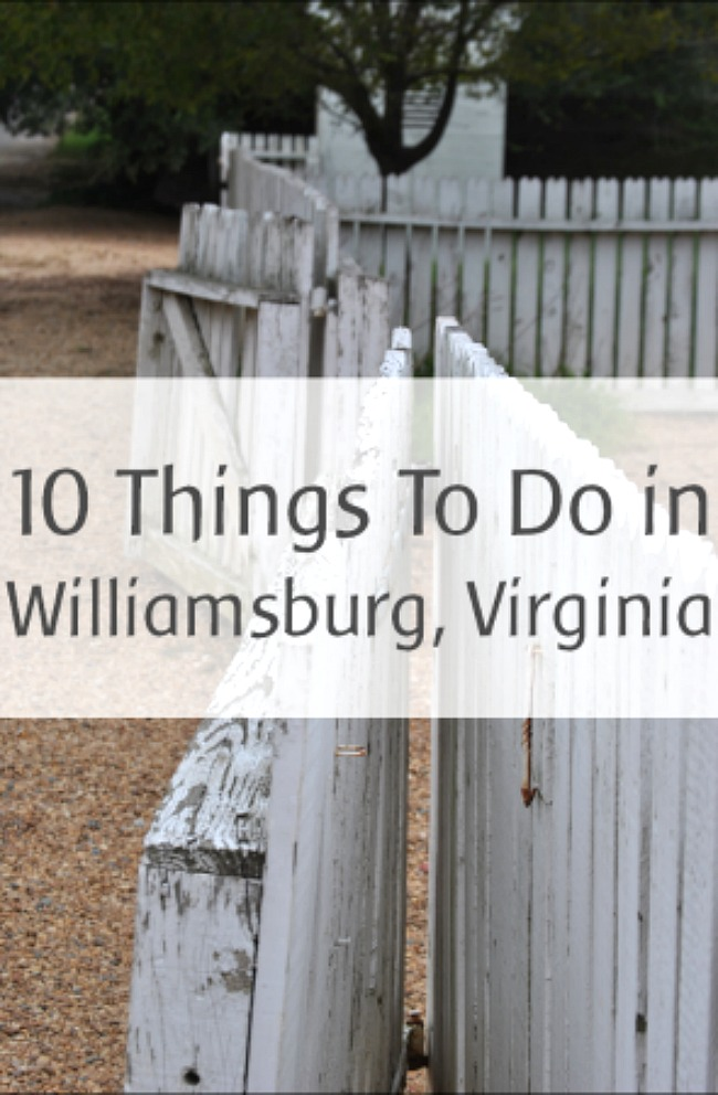10 things to do with kids in williamsburg va for To do in williamsburg