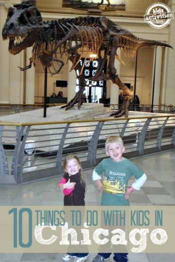 Things to Do with Kids in Chicago IL featured on Kids Activities Blog