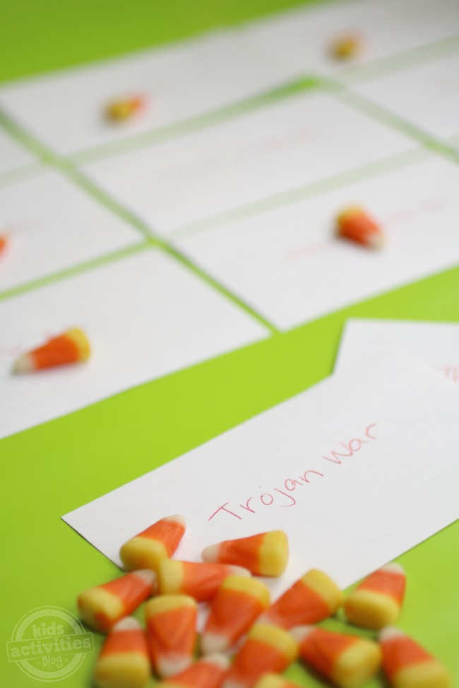 Candy Bingo for Learning Flashcards - Kids Activities Blog