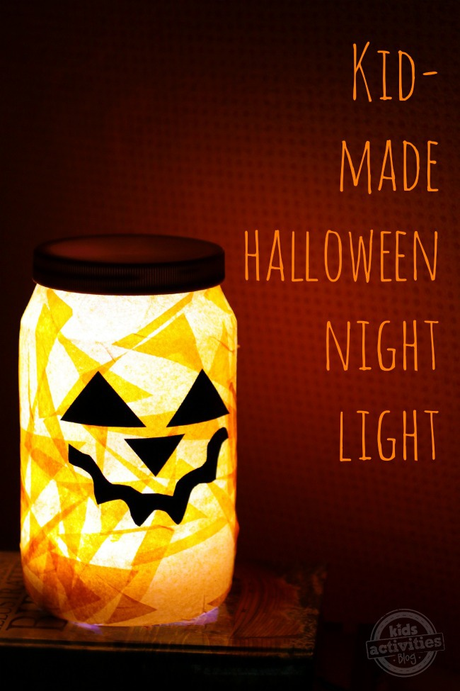 Halloween Night Light for Kids