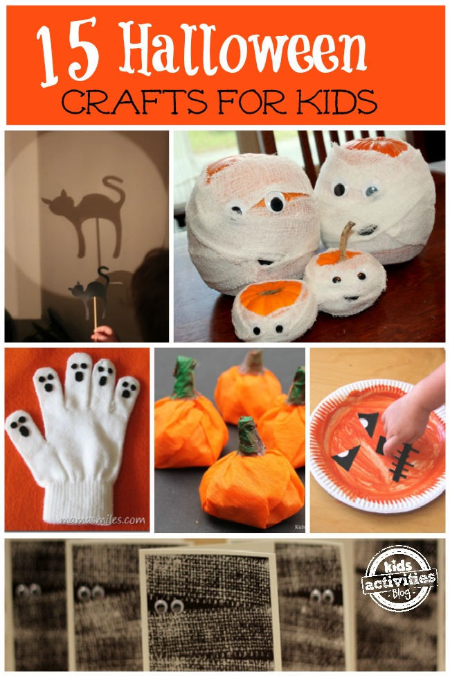 Easy halloween crafts for kids for Fun halloween treats to make with toddlers