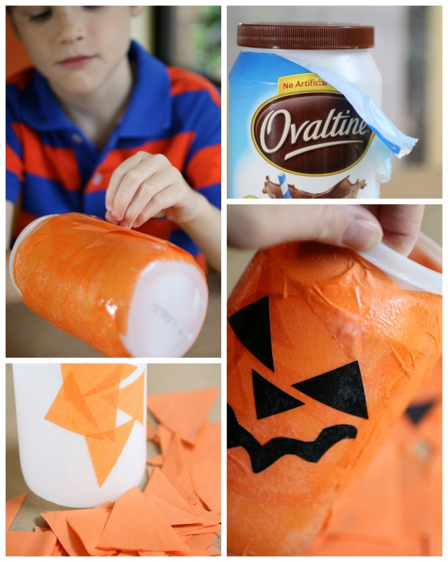 Make a Halloween Night Light