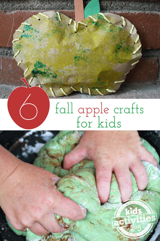 6 Fall Apple Crafts For Kids