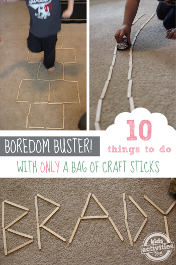 Things to Do with Craft Sticks - Kids Activities Blog