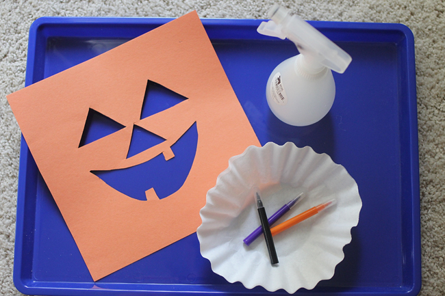 Halloween Jack-O-Lantern Art Project for Kids