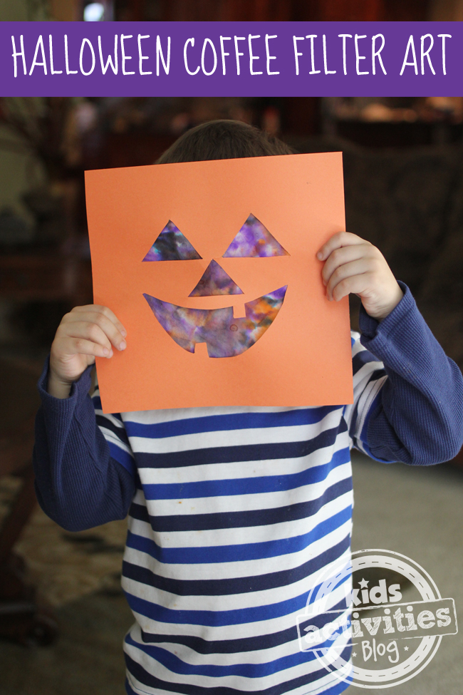 Toddler Jack-O-Lantern Art Project