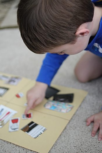 Around the House Activity for Kids