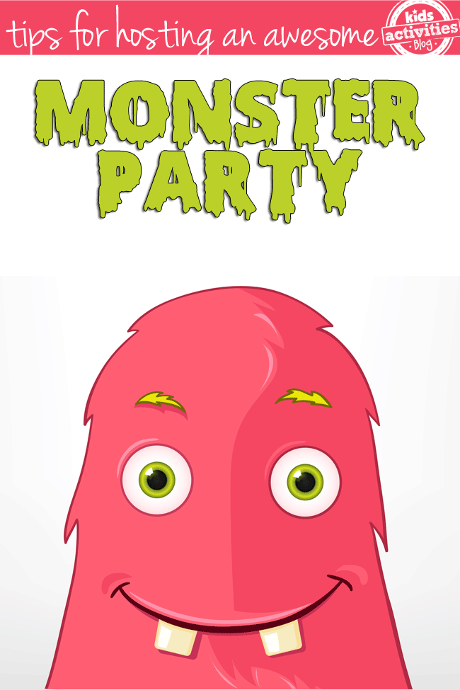 How To Host An Awesome Monster Party
