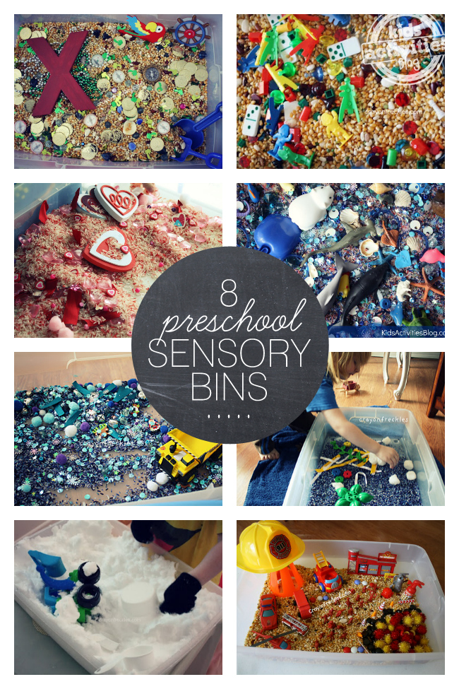 8 Sensory Bins Perfect for Preschoolers