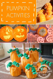 7 Easy Pumpkin Activities