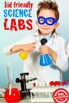 8 {Kid Friendly} Science Labs