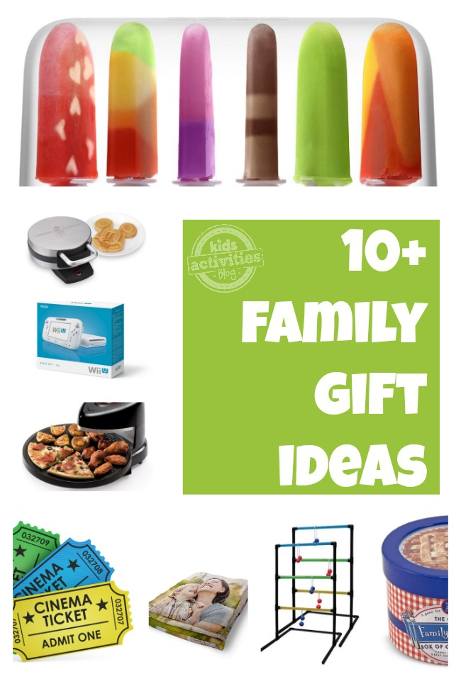 10 Family Gift Ideas chosen by Kids Activities Blog