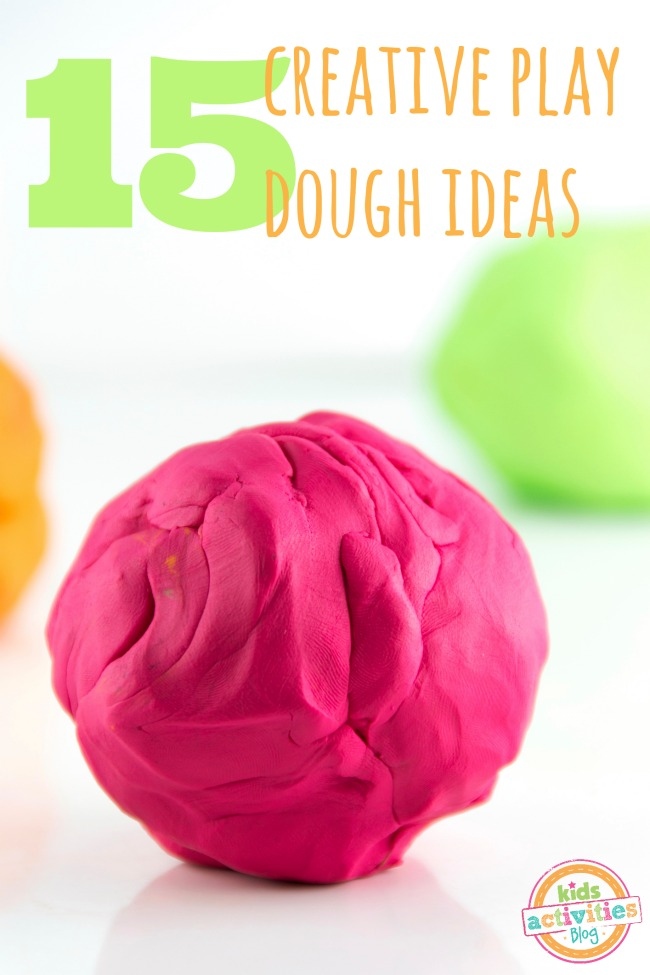 15 Creative Playdough Fun Ideas