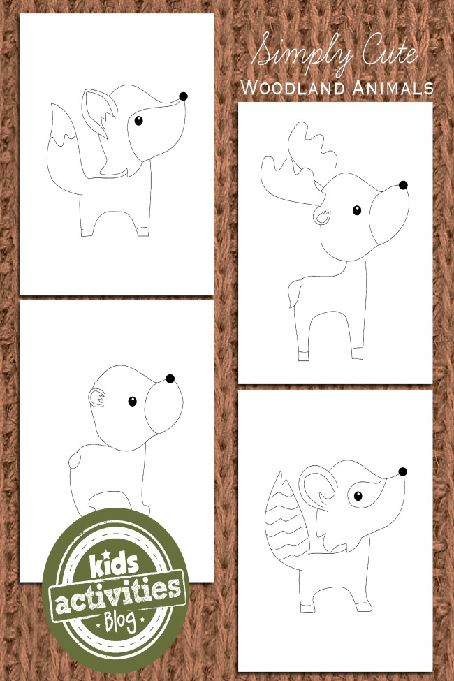 Animal Coloring Pages for Kids - Kids Activities Blog