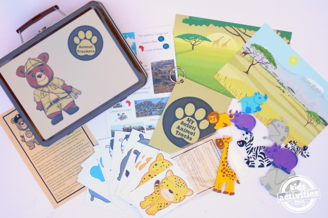 Animal Trackers Subscription Box for Kids - Kids Activities Blog