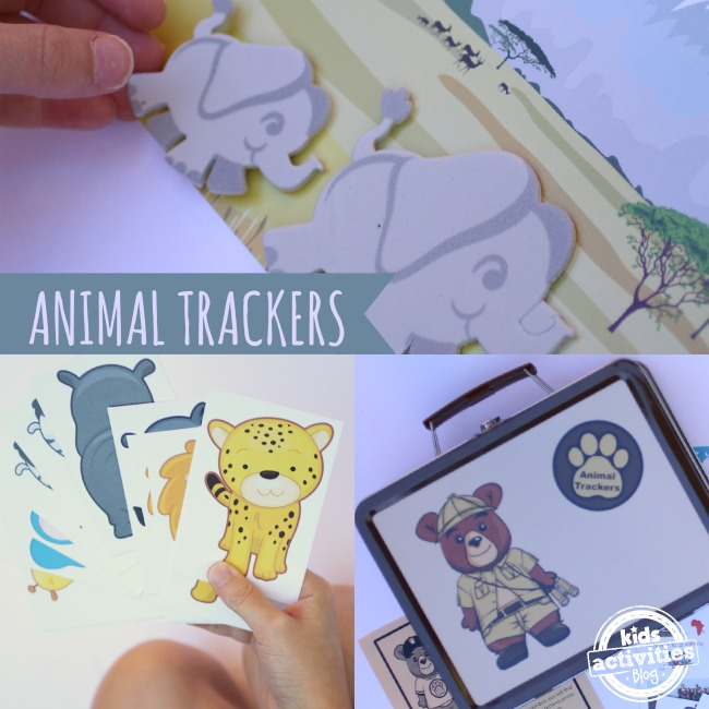 Animal Trackers Subscription for Kids - Kids Activities Blog