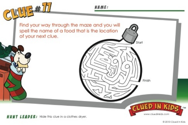 Clued In Kids Clue 11 - Kids Activities Blog