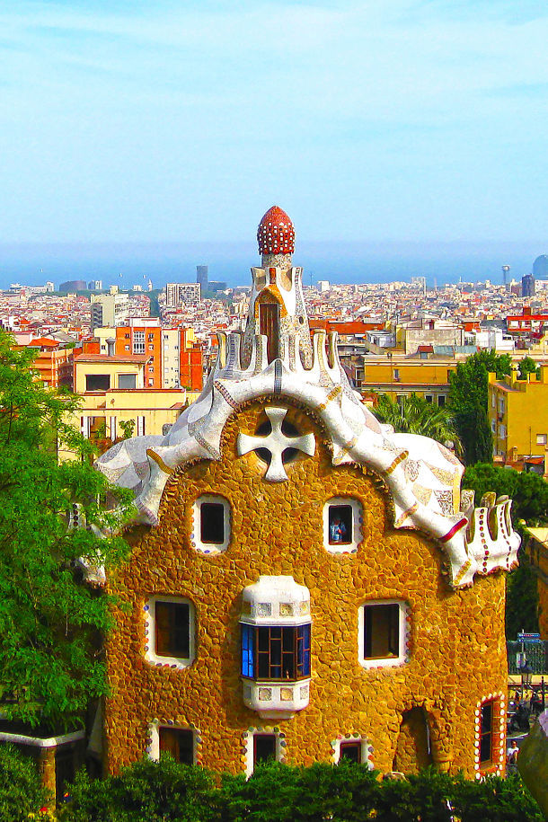 Gaudi Gingerbread House Barcelona